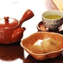 サービス_お茶