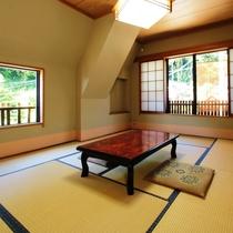 7.5~8畳タイプの客室一例