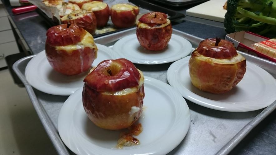 リンゴグラタン