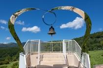 嬬恋牧場の愛妻の鐘