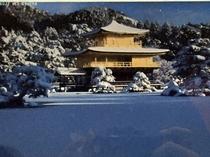 金閣寺(冬)