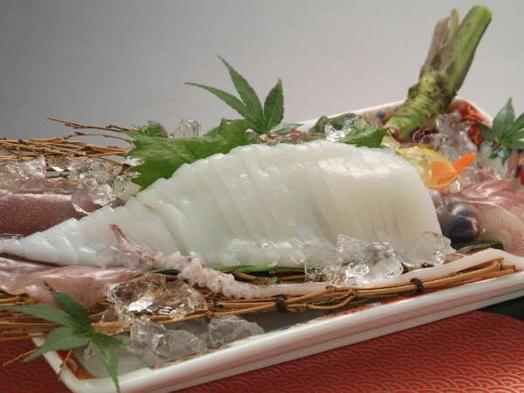 【夏季限定】山陰の風物詩×幻想的な漁火♪♪★白イカと海鮮会席プラン★