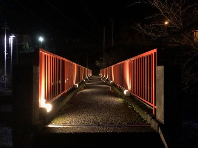 春来川にかかる橋