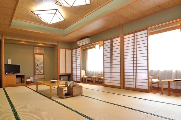 【和室20畳×平日プラン】西会津ならではの食材を生かした創作和食膳と源泉掛け流しの温泉を楽しむ