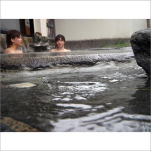 天然温泉かけ流し!湯野上温泉の湯でまったり