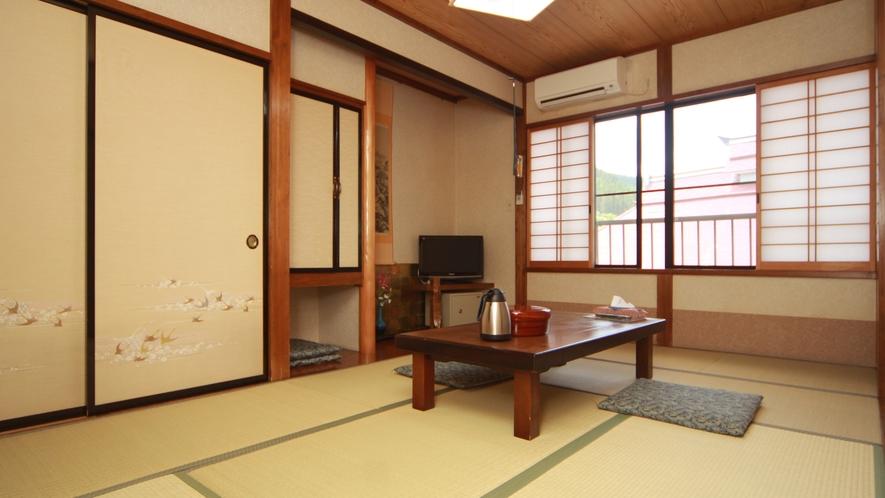 【6畳~8畳和室一例】ゆっくりとおくつろぎ頂けるお部屋イメージ。