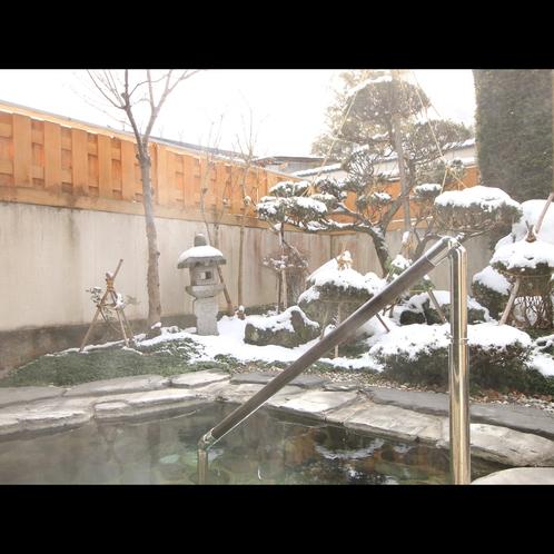 ■雪見の露天風呂
