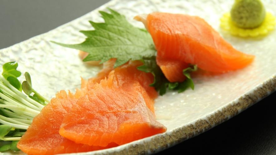 お料理例☆鱒(ます)のお刺身