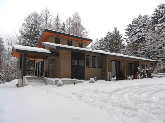 施設 エントランス冬景色15