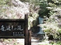 観光 竜返しの滝1