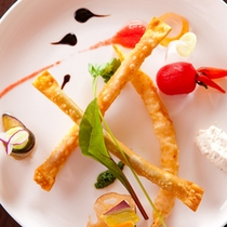 【シガレット春巻き】海老、黒豚ハム、野菜の3種のシガレット