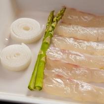 美肌鍋 季節の鮮魚と共に