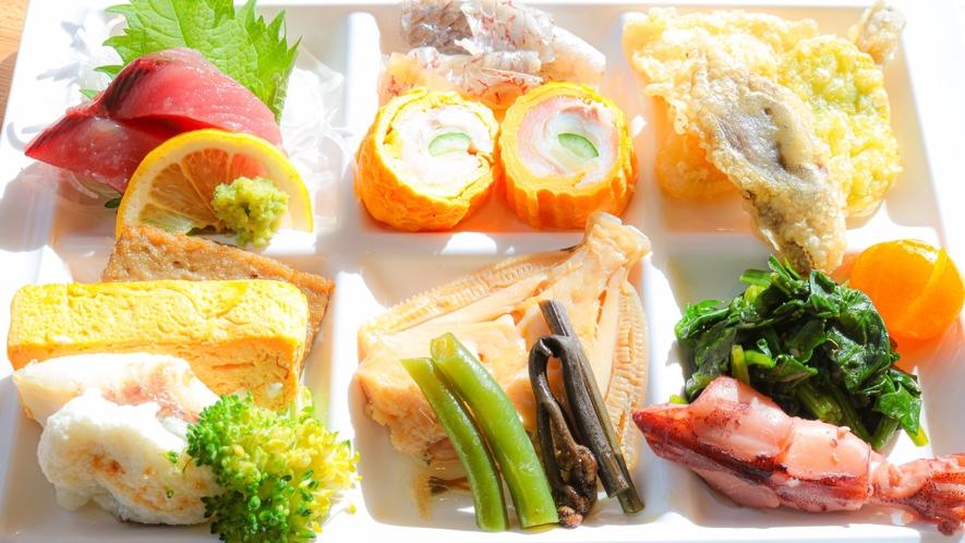【朝食】和洋30種類バイキング