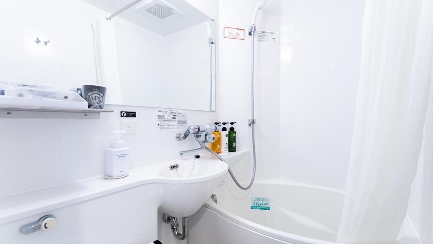 ■【2階対象】たまご型バス(節水シャワー採用)