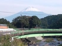 富士山とダイナ橋