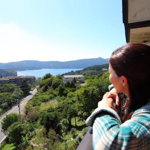 箱根芦ノ湖とおいしい空気