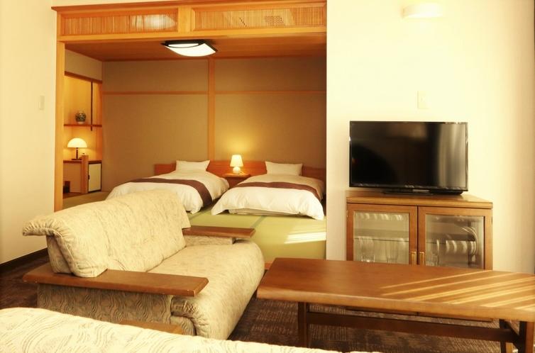 特別室(応接室+和ツインルーム)/Twin Room with sitting room