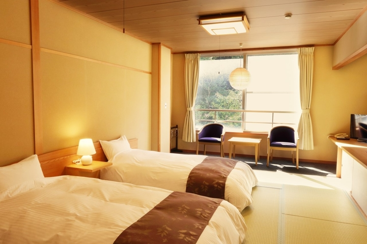和風ツインルーム/Japanese-Style Twin Room with Shared Bath