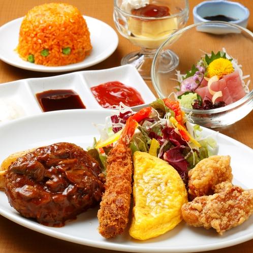 御夕食/Dinner◆小学生向けプレート(イメージ)