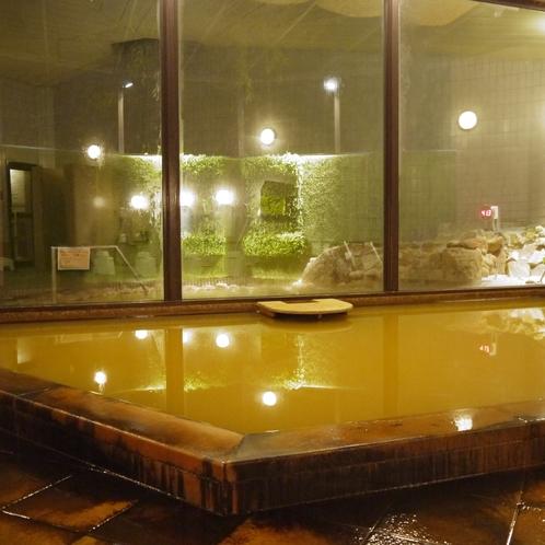 温泉(大浴場)/Hot Springs(shared Bath Room)◆モダングリーン