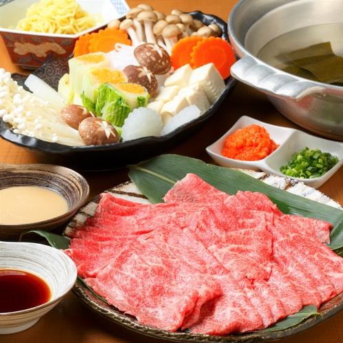 御夕食/Dinner◆国産牛しゃぶしゃぶプラン(イメージ)
