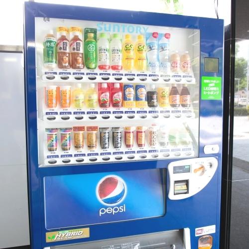 館外自動販売機(ジュース他)