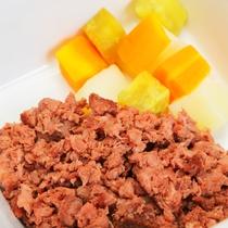 【わんちゃんのごはん】山梨名物 炙り桜肉