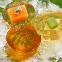 【夕食】山水のこころ懐石『旬夏秋冬』(月替わり) 月ごと、仕入れ状況等により料理内容は変わります。