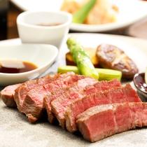 【夕食】山海コース(ご連泊用メニュー)月ごと、仕入れ状況等により料理内容は変わります