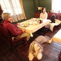 レストランにはペット同伴可能!大切なワンちゃんや猫ちゃんと楽しく、自慢の食事に舌鼓♪