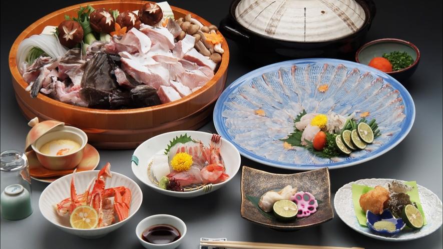 【くえ料理】日本海側初のクエが味わえるクエ料理プランです
