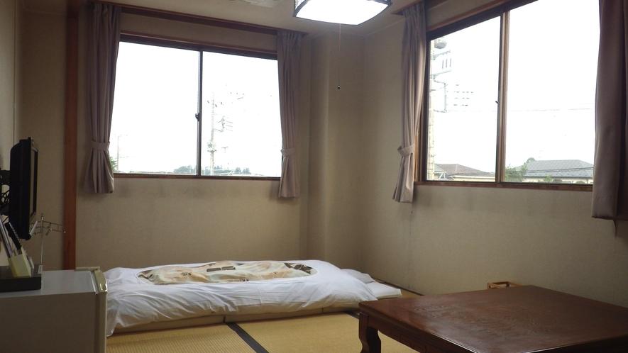 *【和室<喫煙>例】お布団派の人は和室のお部屋を。
