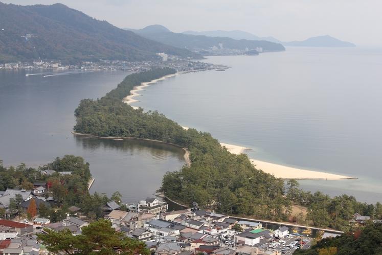 天橋立 日本三景の松並木