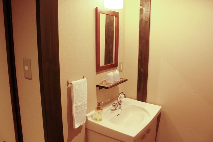 304号室 洗面台