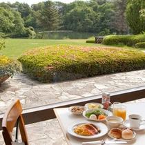 レストラン アチェロ朝食風景