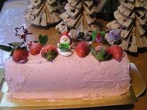 35.クリスマスケーキの試作品♪