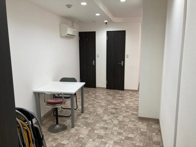 スタジオ内部 1時間500円 宿泊じゃない方もご利用頂けます。ご予約は丸一ホテル0663120621