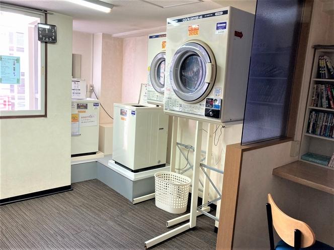 新しくコインランドリーに洗濯機、乾燥機1台ずつ追加しました!
