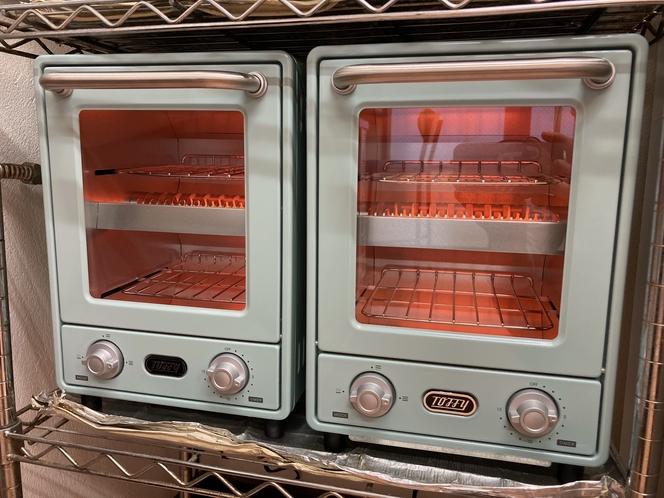 オーブントースター一部故障していたので新品追加しました。