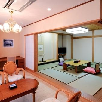 【和室特別室】和室10畳+広いリビング(バス・トイレ付)
