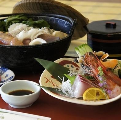 お1人様宿泊応援P2食付【8500円】ご当地いしる海鮮鍋プラン♪