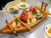 金目鯛の舟盛り