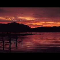 夕陽の三方五湖★