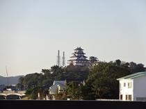 唐津城遠景