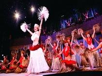 ハワイアンといえばフラガール♪一番の見どころは夜のフラダンスショー!!PM8:30~9:30です☆