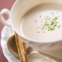 夕食_季節のスープ