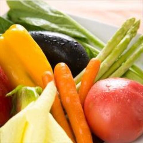 新鮮な旬の野菜