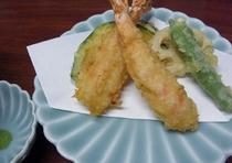 天ぷらの一例です。