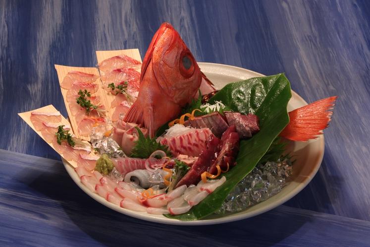 地魚のお刺身姿盛り