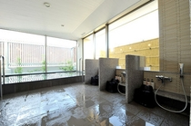 最上階男性大浴場(人工温泉)